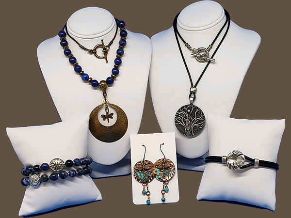 Necklaces, Bracelets and Earrings